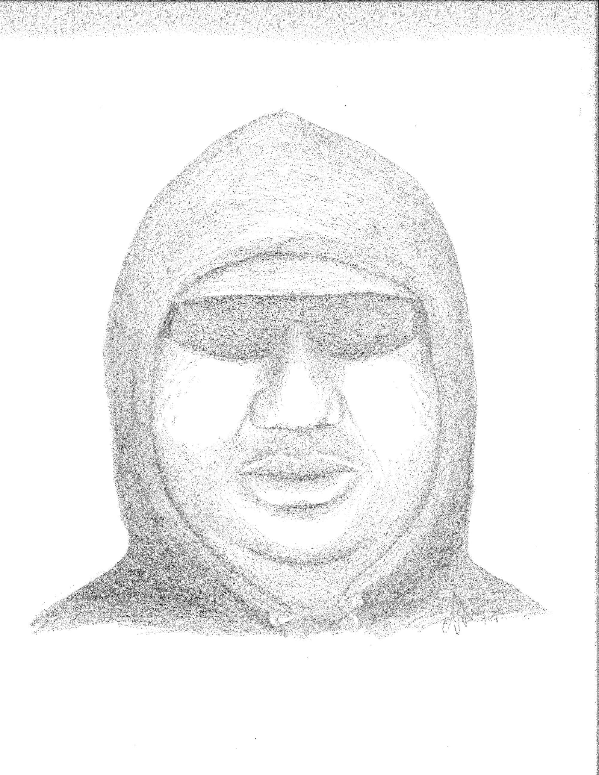 Sally Beauty suspect sketch