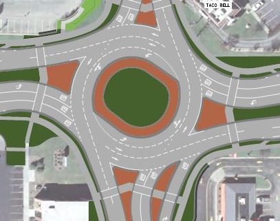 DOT unveils Richmond/OO roundabout plan