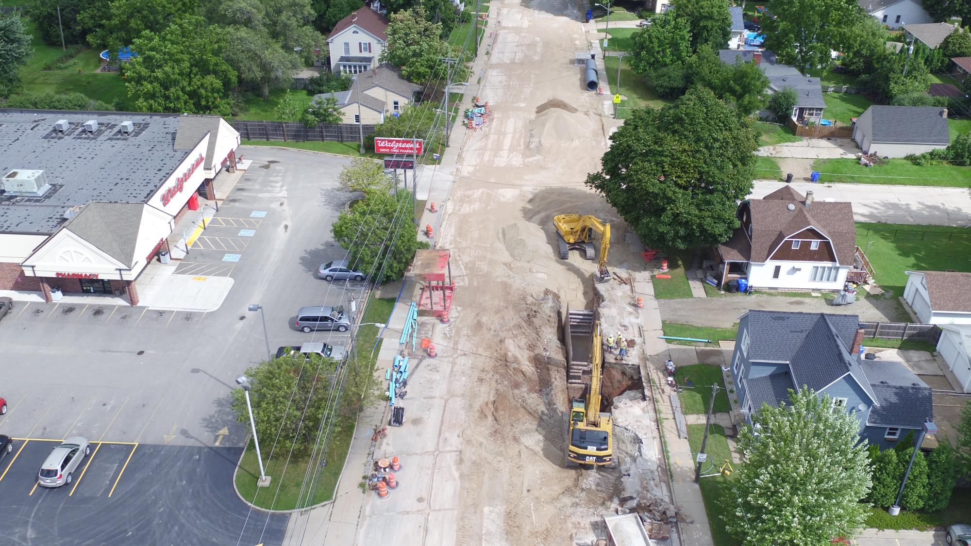 Oneida St. construction closing in on final phase for 2017