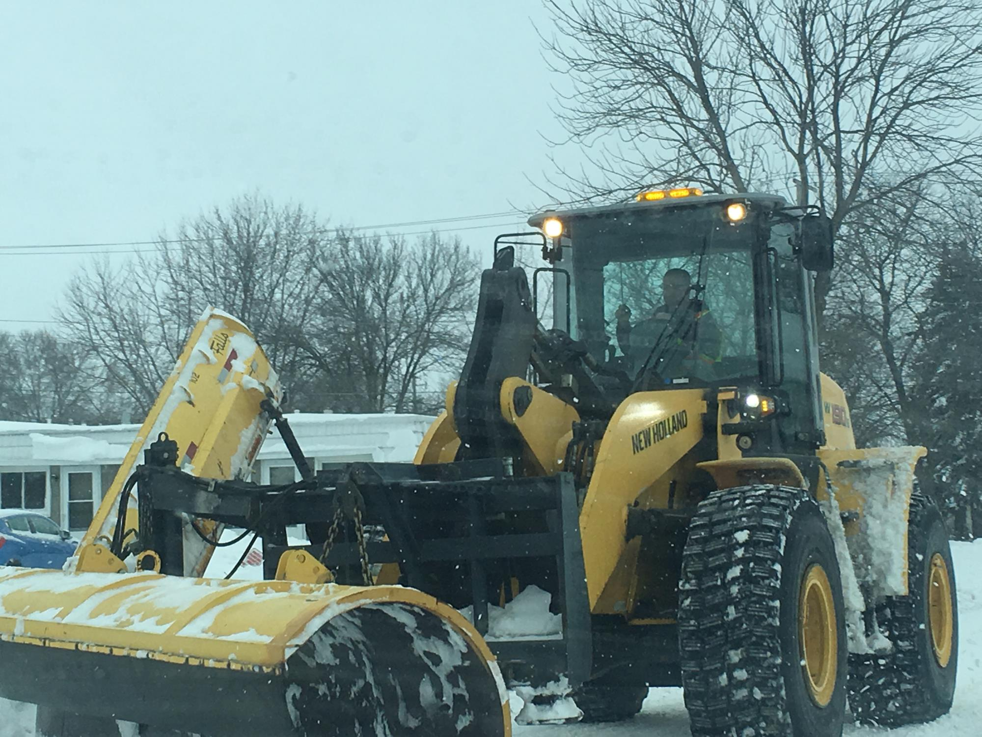 Snow Plowing Update