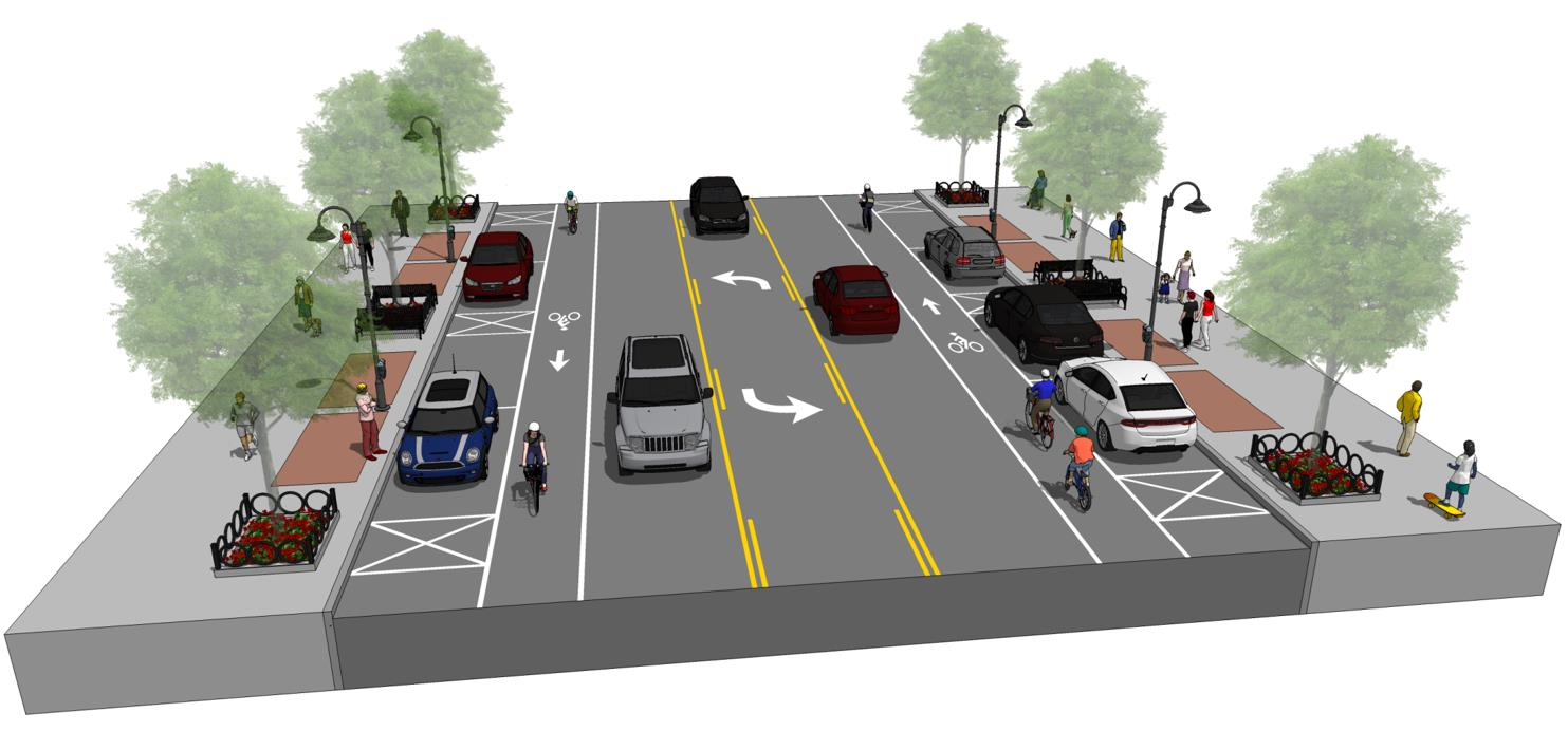 Mobility study - College Ave. reconfiguration