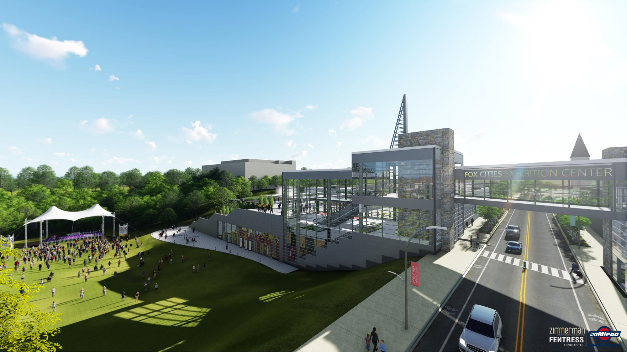 Iconic Fox Cities Exhibition Center design unveiled to the community