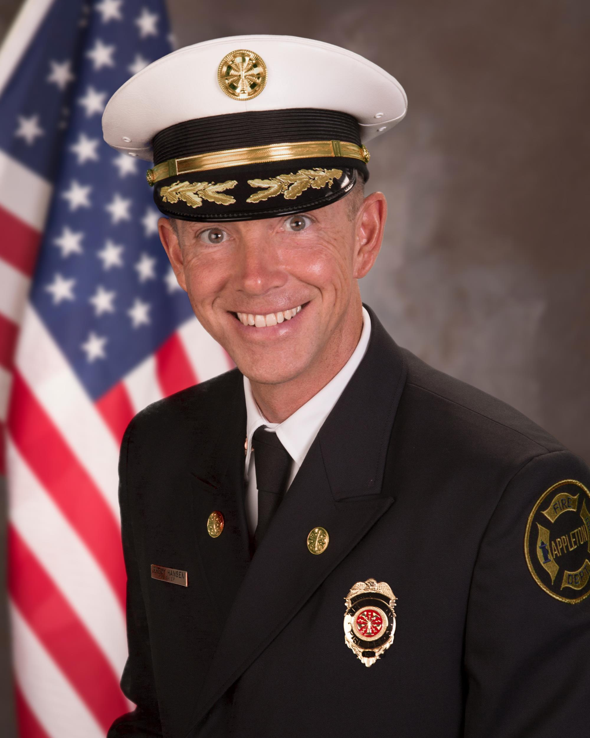 Fire Chief Jeremy Hansen