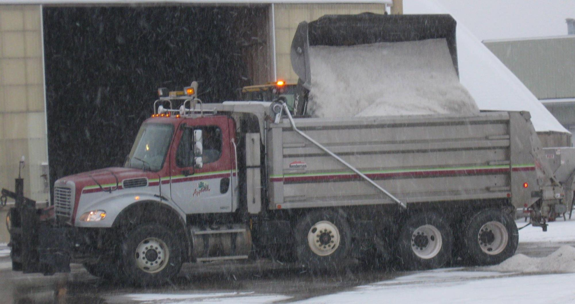 Salt shortage forcing DPW to limit use for the remainder of winter